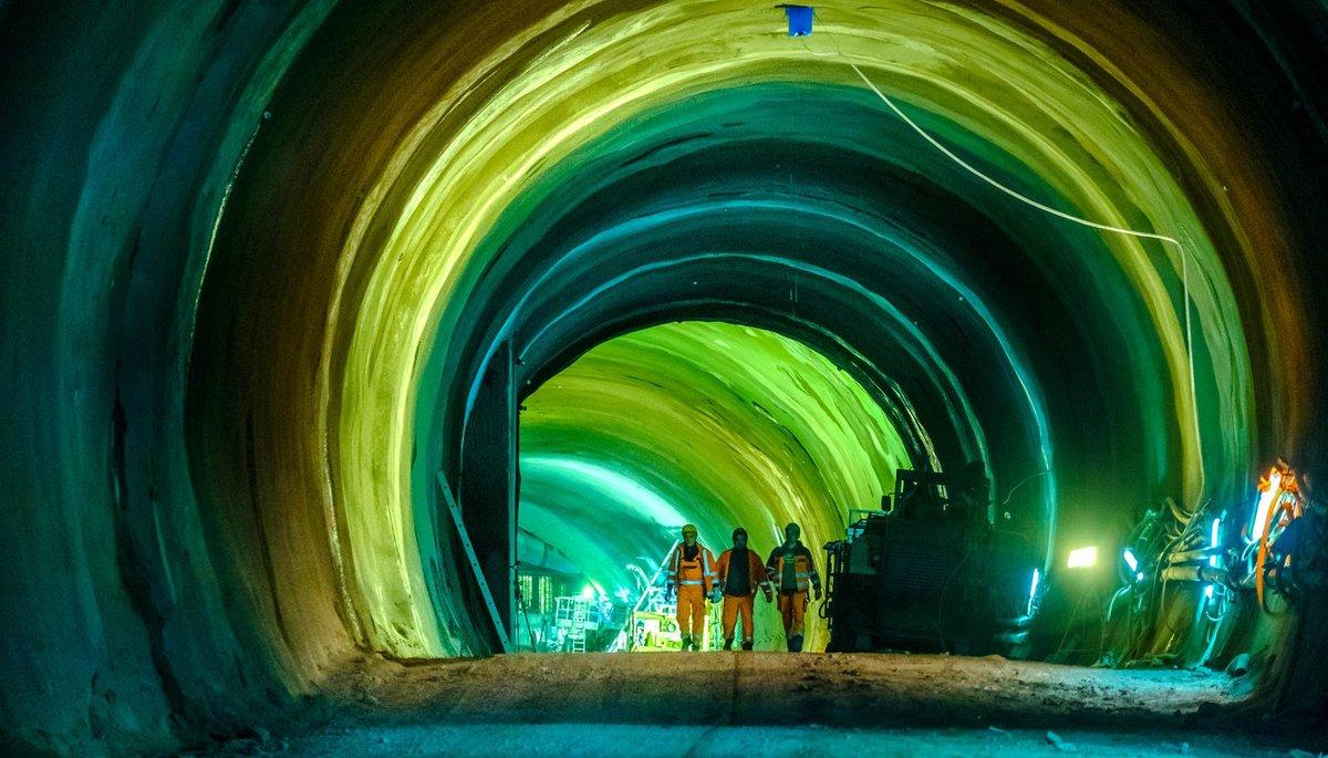 Viele neue Tunnel baut die Bahn – nicht so grün und öko. Foto: Joachim E. Röttgers