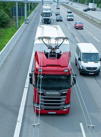 Konkurrenz unter Strom: E-Highway. Foto: Siemens
