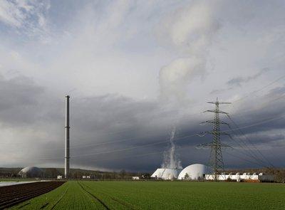Die DB ist Miteigentümerin des AKWs Neckarwestheim. Foto: Joachim E. Röttgers