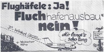 Karikatur Fluhäfle ja!