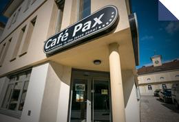 Café Pax von außen