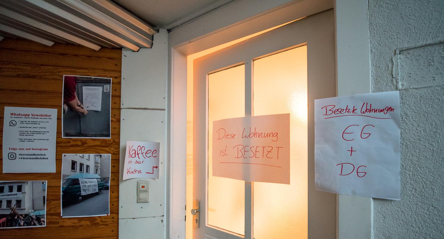 KONTEXT:Wochenzeitung - Ausgabe 370 - Diese Wohnung ist besetzt