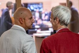Stefan Räpple und Wolfgang Gedeon, AfD